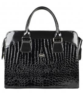 Čierna elegantná taška na notebook ST01 - Grosso