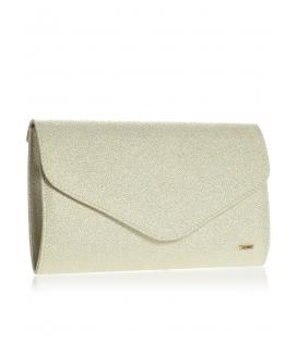 Zlatá brokátová společenská kabelka SP102 - Grosso