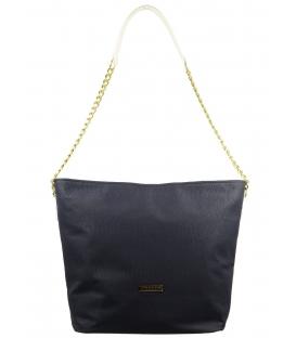 Modro bílá kabelka přes rameno s řetízkem S569 Grosso