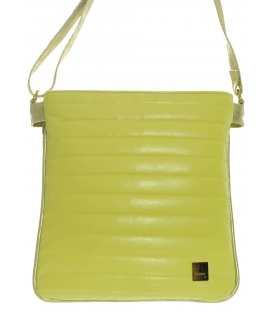 Žlto - zlatá prešívaná crossbody taška M188