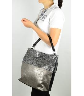 Elegáns ezüst és arany táska S613 - Grosso