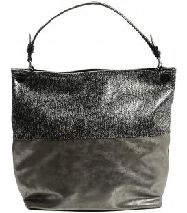 Elegantná metalická kabelka s hadím vzorom S613 - Grosso