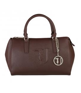 Elegantná hnedá kabelka - TRUSSARDI
