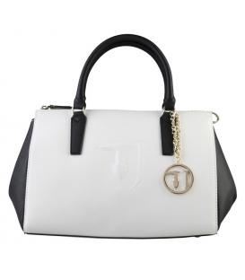Čierno-biela elegantná dámska kabelka - TRUSSARDI