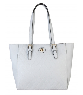 Bledá elegantná anglická kabelka - Pierre Cardin
