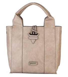 Moderná dámska kabelka v bledej škoricovej - Pierre Cardin