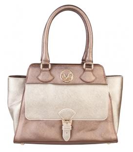 Medená dámska luxusná kabelka - V1969
