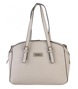 Dámska bledá elegantná kabelka - Pierre Cardin