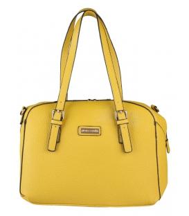 Dámska elegantná kabelka v horčicovo žltej farbe - Pierre Cardin