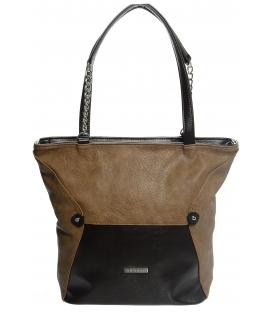 Škoricová jednoduchá kabelka S615 - Grosso