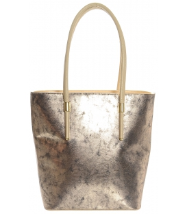 Zlato-medená vysoká kabelka S619 - Grosso