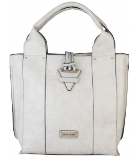 Bledučká dámska praktická kabelka  - Pierre Cardin