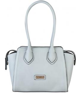 Sivá dámska praktická kabelka s dlhými rúčkami  - Pierre Cardin