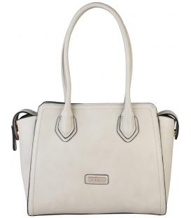 Béžová dámska praktická kabelka s dlhými rúčkami  - Pierre Cardin
