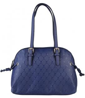 Štýlová kabelka v tmavo-modréj farbe  - Pierre Cardin