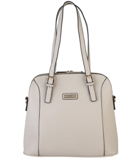 Béžová praktická kabelka s dlhými rúčkami  - Pierre Cardin
