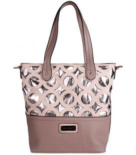 Hnedá trendová kabelka - Pierre Cardin