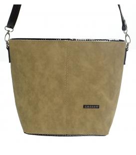 Dámska crossbody kabelka v ťavej hnedej M326 - Grosso