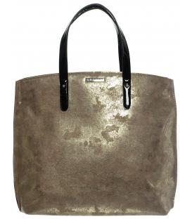 Zlatá pretieraná kabelka v anglickom štýle  S612 - Grosso