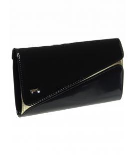 Čierno-zlatá spoločenská kabelka SP127 - Grosso