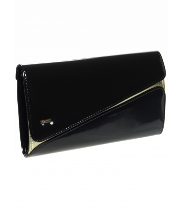 Černo-zlatá společenská kabelka SP127 - Grosso