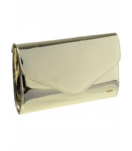 Zlatá lesklá spoločenská kabelka SP102 - Grosso
