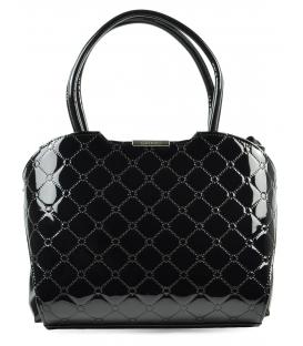 Exkluzívna čierna kabelka S467 - Grosso