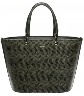 Zelená kabelka s hadím vzorem S630 - Grosso