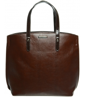 Koňakovo - hnedá kabelka S612 - Grosso