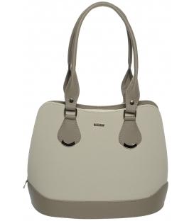 Elegáns bézs táska S608 - Grosso