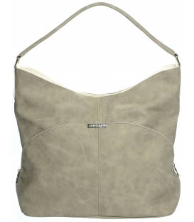 Világosbarna táska S655 - Grosso