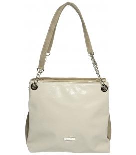 Bézs táska S652- Grosso