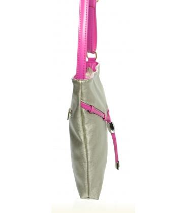 Zlato-ružová crossbody kabelka M241 - Grosso