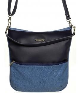 Kék crossbody táska M204 - Grosso