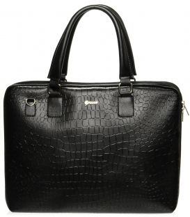 Fekete táska S562 Grosso