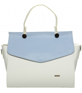 Fehér-kék táska S661 - Grosso