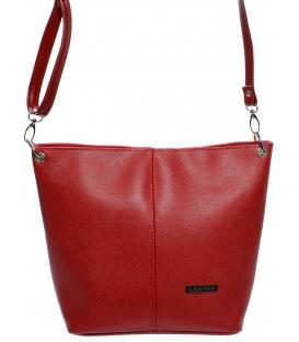 Červená crossbody kabelka  M326 - Grosso