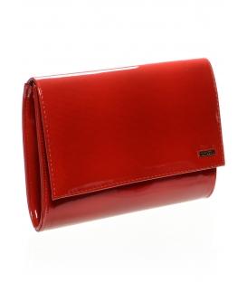 Malá červená clutch kabelka do ruky SP128 - Grosso