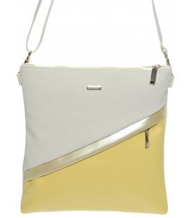 Sárga-fehér crossbody táska M217 - Grosso