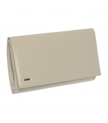 Béžová matná společenská kabelka SP100 - Grosso
