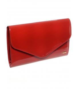 Červená lakovaná clutch kabelka do ruky SP102 - Grosso
