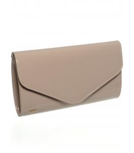 Púdrová lakovaná listová kabelka SP102 - Grosso