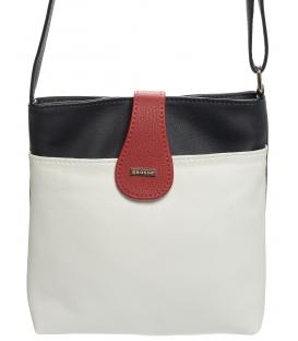 Bielo-modro-červená matná kabelka M65 - Grosso