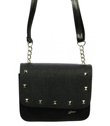Čierna elegantná crossbody taška M270 - Grosso