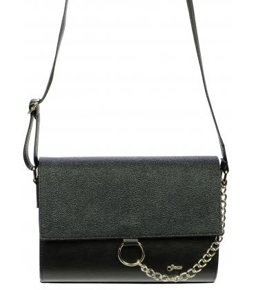 Čierna elegantná crossbody taška M277 - Grosso