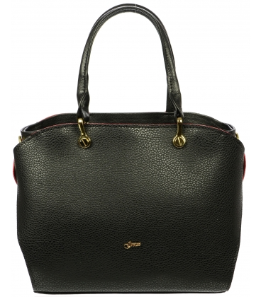 Černá elegantní kabelka S686 - Grosso