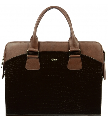 Hnědá taška na notebook ST01 - Grosso