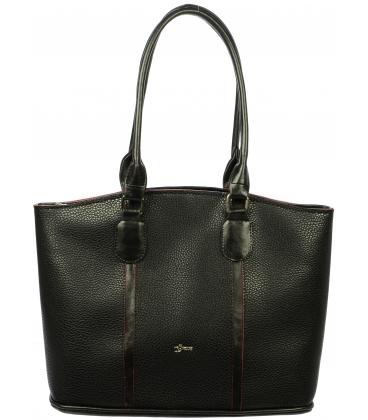Štýlová čierna taška S708 - Grosso