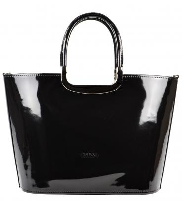 Exkluzívna čierna kabelka S7 - Grosso