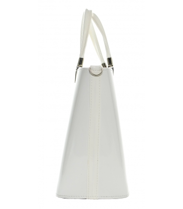 Elegáns fehér kézitáska S7 festék - Grosso